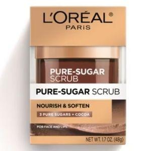 L'OREAL Pure-Sugar Scrub Nourish & Soften